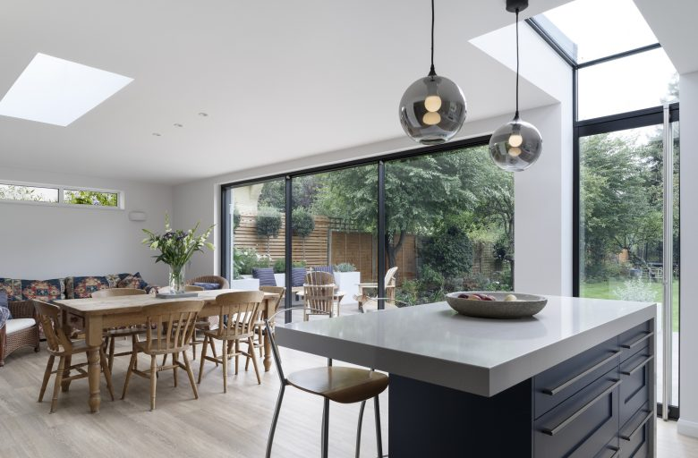 Re-modelling rear extension and new kitchen